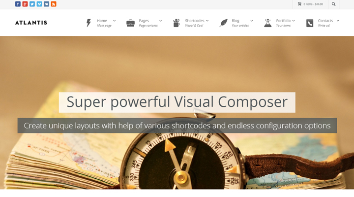 Atlantis - Multi-Purpose Corporate WP Theme