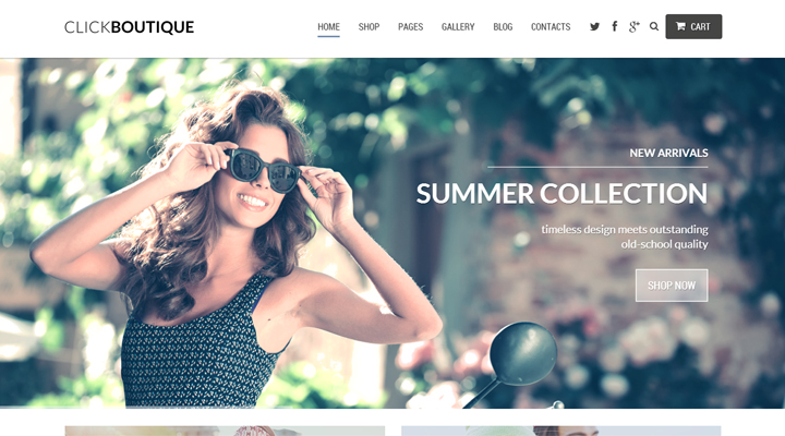 Click Boutique - WordPress WooCommerce Theme
