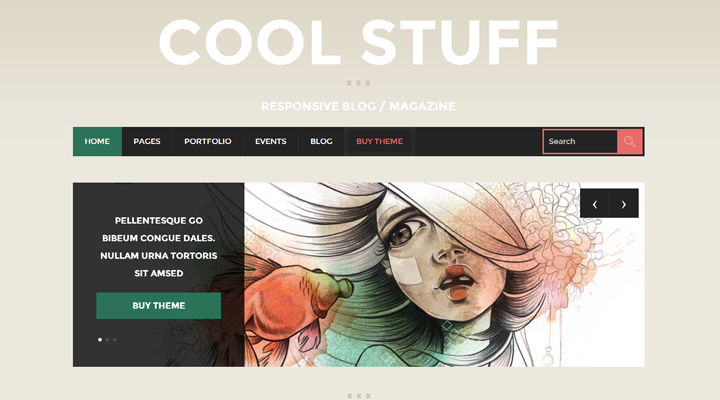 Cool Stuff - Blog, Magazine WordPress Theme