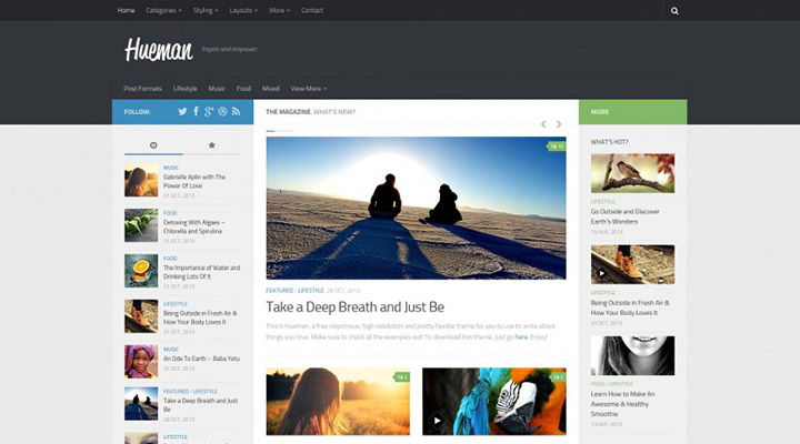 Hueman - Free WordPress Theme