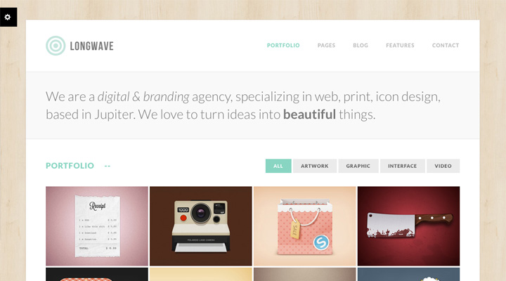 Longwave - Multipurpose Responsive WordPress Theme
