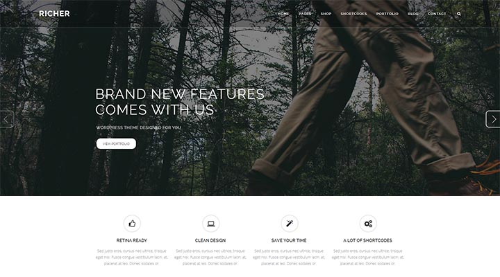 Richer - Responsive Multi-Purpose Theme