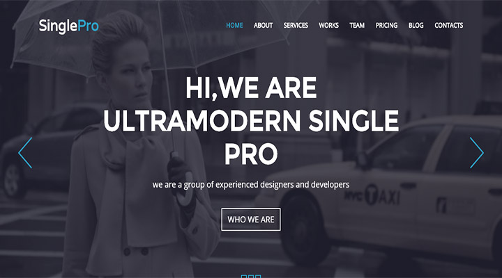 SinglePro - Free Wordpress Portfolio Business Them